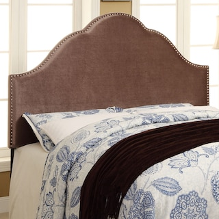Delaney King Headboard - Chrome
