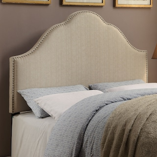 Delaney Queen Headboard - Oatmeal