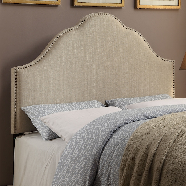 Bedroom Furniture - Delaney Upholstered Headboard