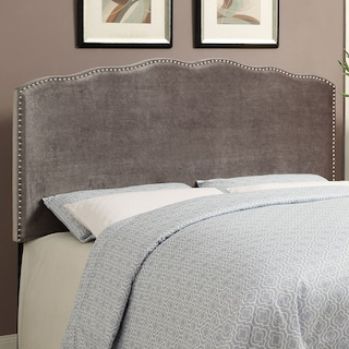 Layla King Headboard - Platinum