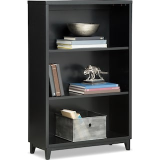 "Oslo 46"" Bookcase - Black"