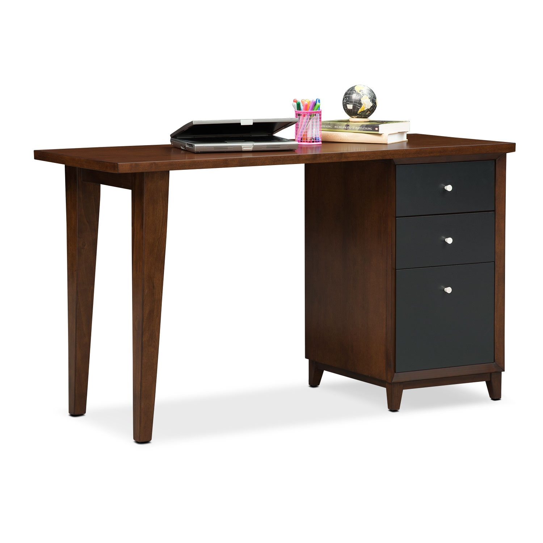 Home Office Furniture - Oslo Black Laptop Desk