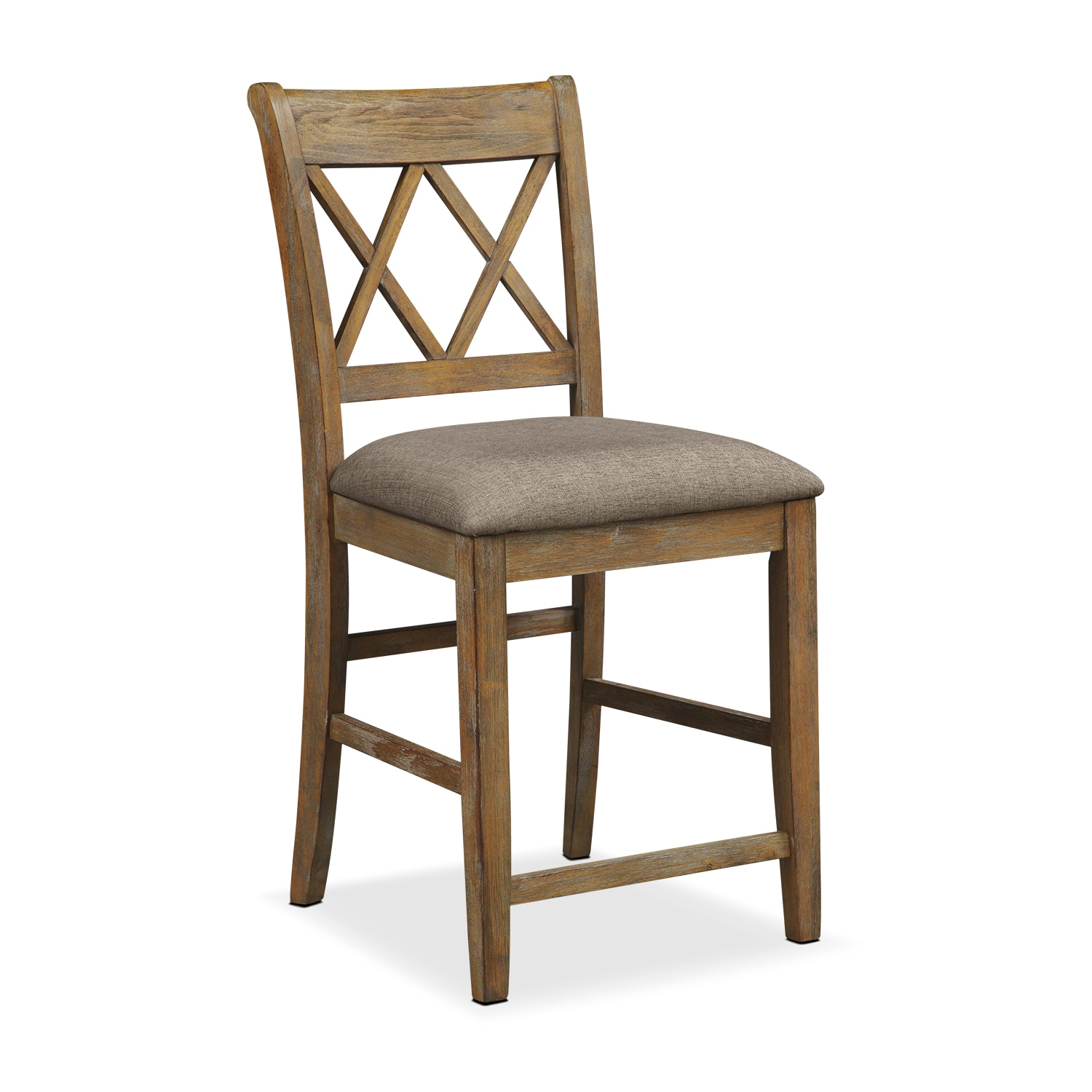 Dining Room Furniture - Sedona Gray Counter-Height Chair