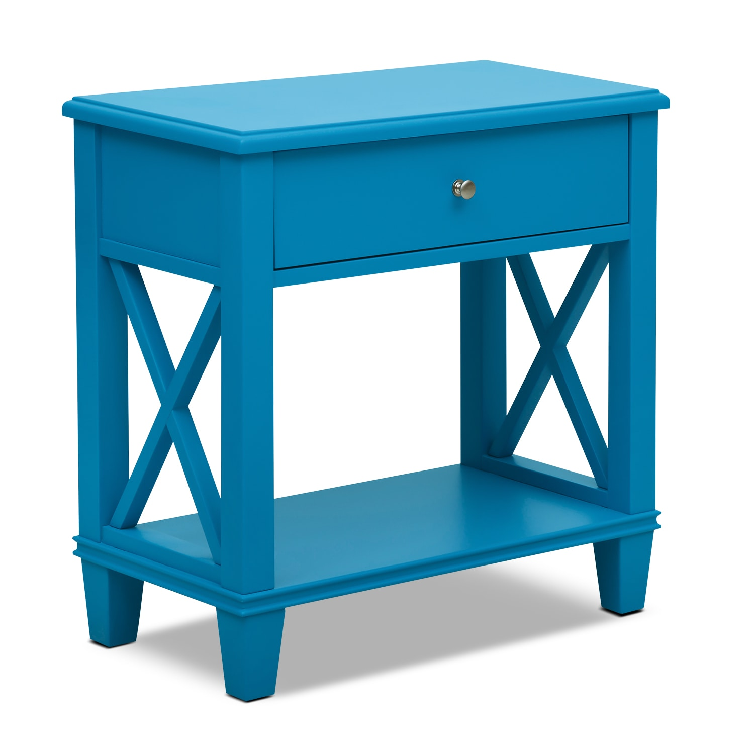 Accent and Occasional Furniture - Liat Accent Table - Blue