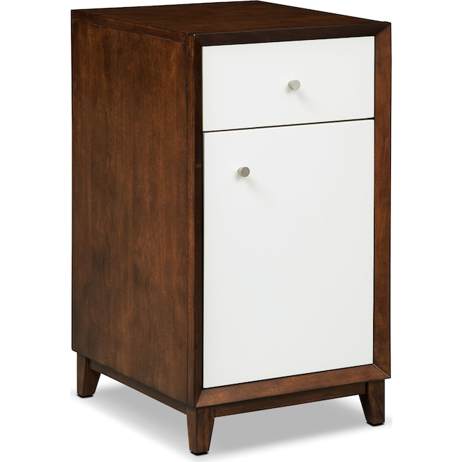 Home Office Furniture - Oslo Door File Cabinet - White