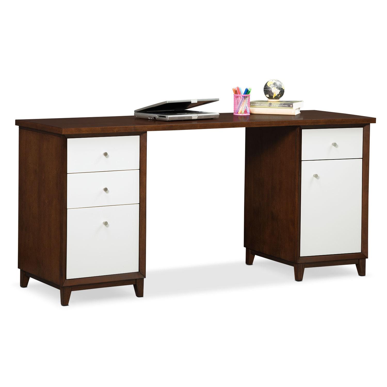 Home Office Furniture - Oslo White Desk