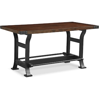 Newcastle Counter-Height Dining Table - Mahogany