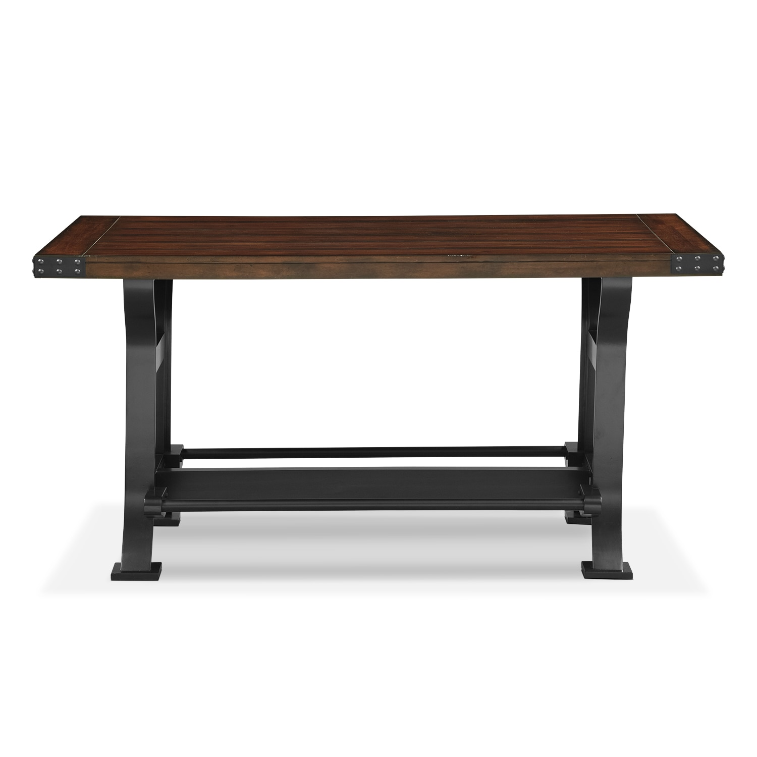 Newcastle counter height dining table mahogany american click to change image geotapseo Choice Image