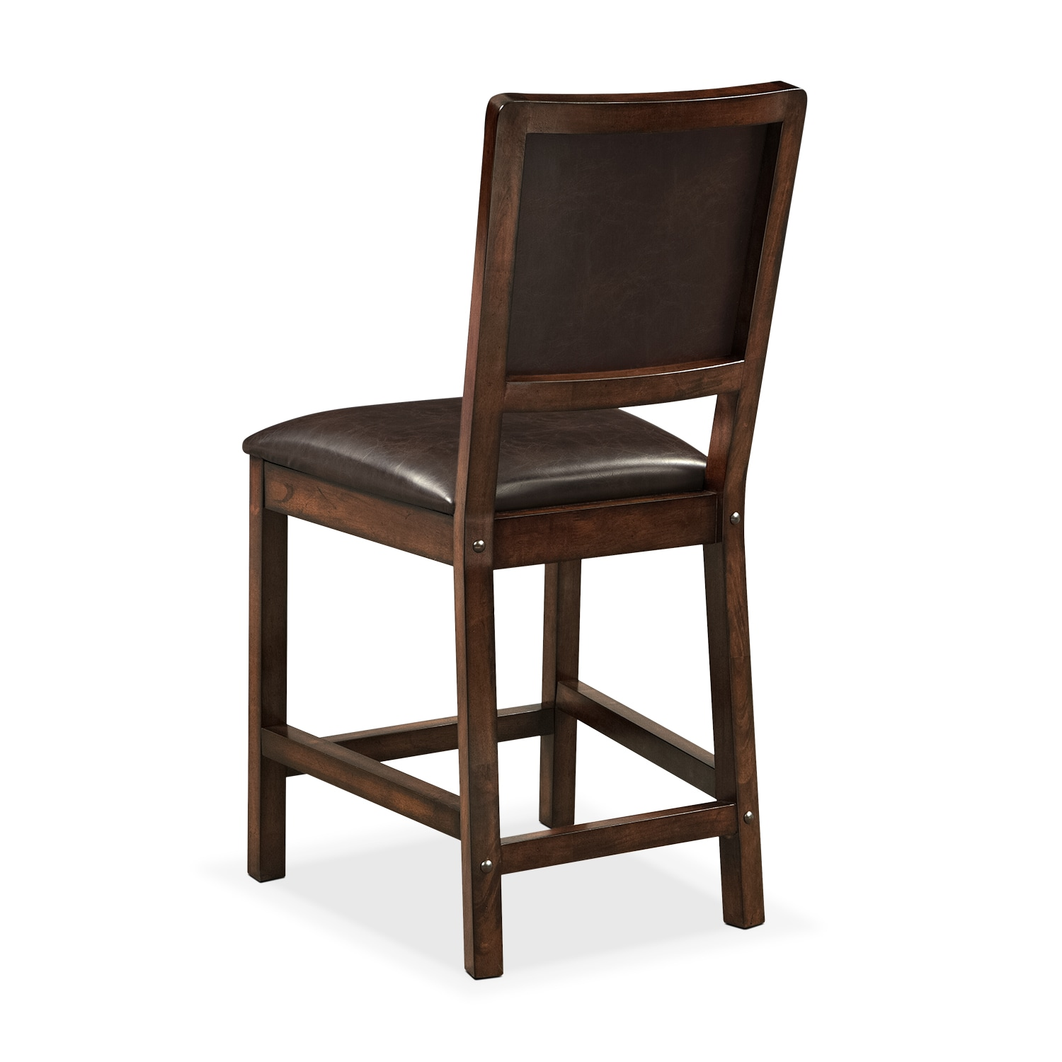Newcastle Counter Height Chair Mahogany American Signature Furniture