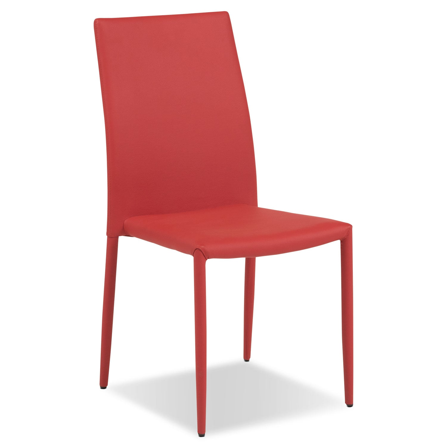 Dining Room Furniture - Quattro Side Chair - Red