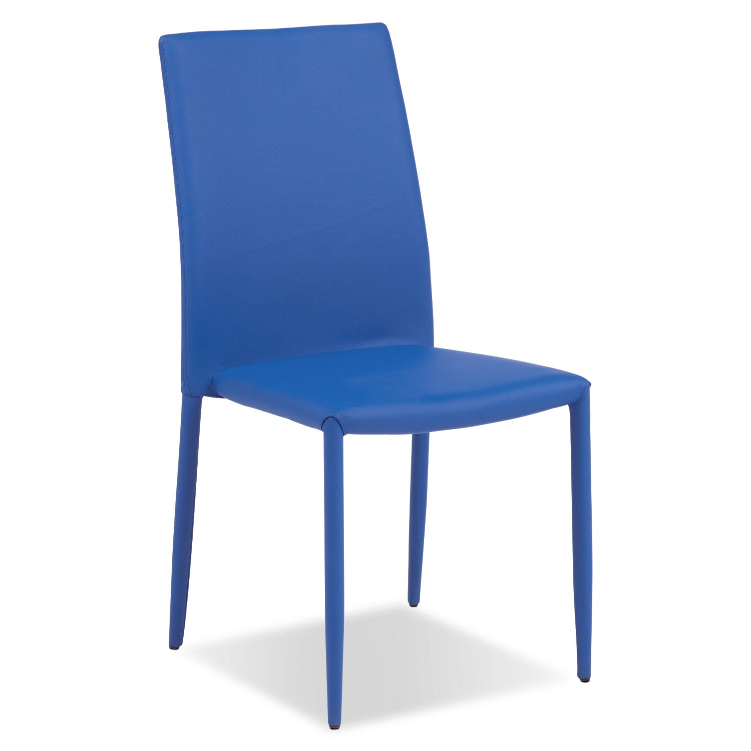 Dining Room Furniture - Quattro Side Chair - Blue