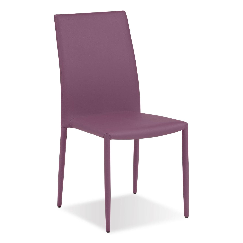 Quattro Side Chair - Purple