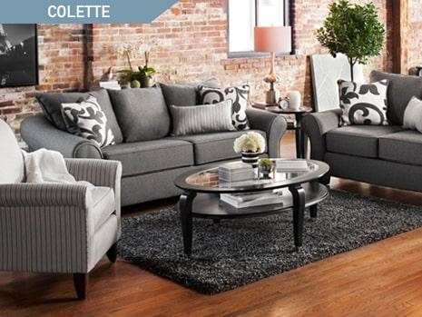Shop the Colette Gray Sofa by Kroehler