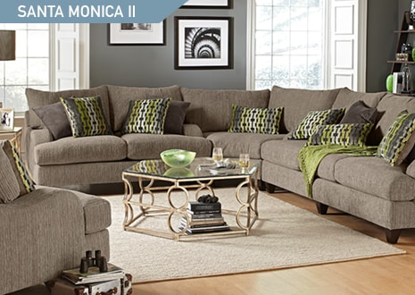 Shop the Santa Monica II 3 piece sectional and chair from Kroehler