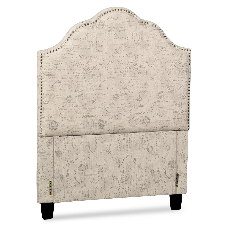 Kids Furniture - Maya Upholstered Headboard