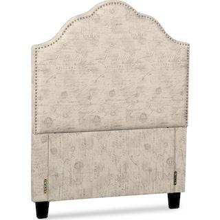 Maya Full Upholstered Headboard - Script