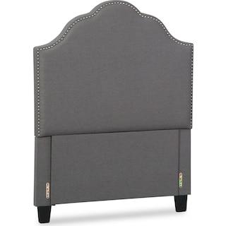 Maya Full Upholstered Headboard - Gray