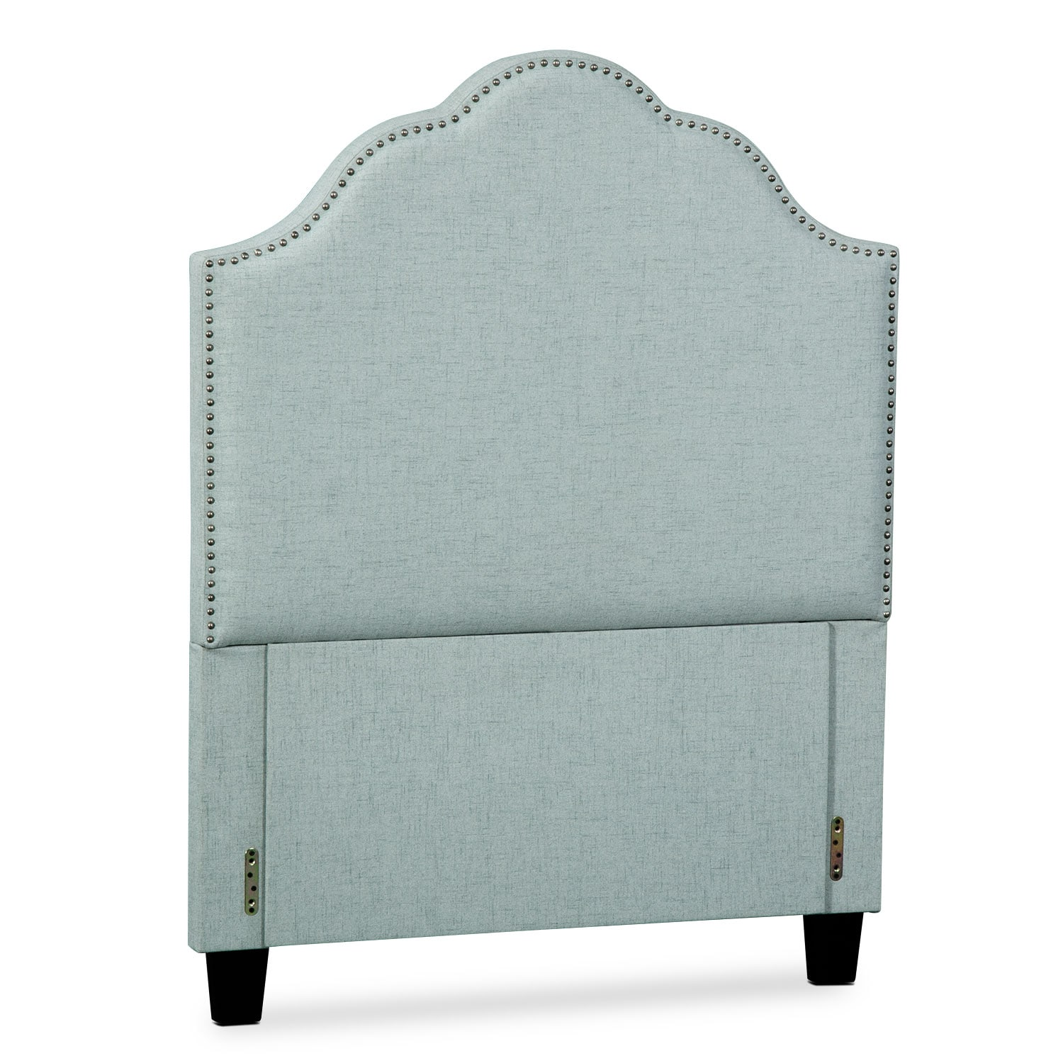 Maya Full Upholstered Headboard - Aqua