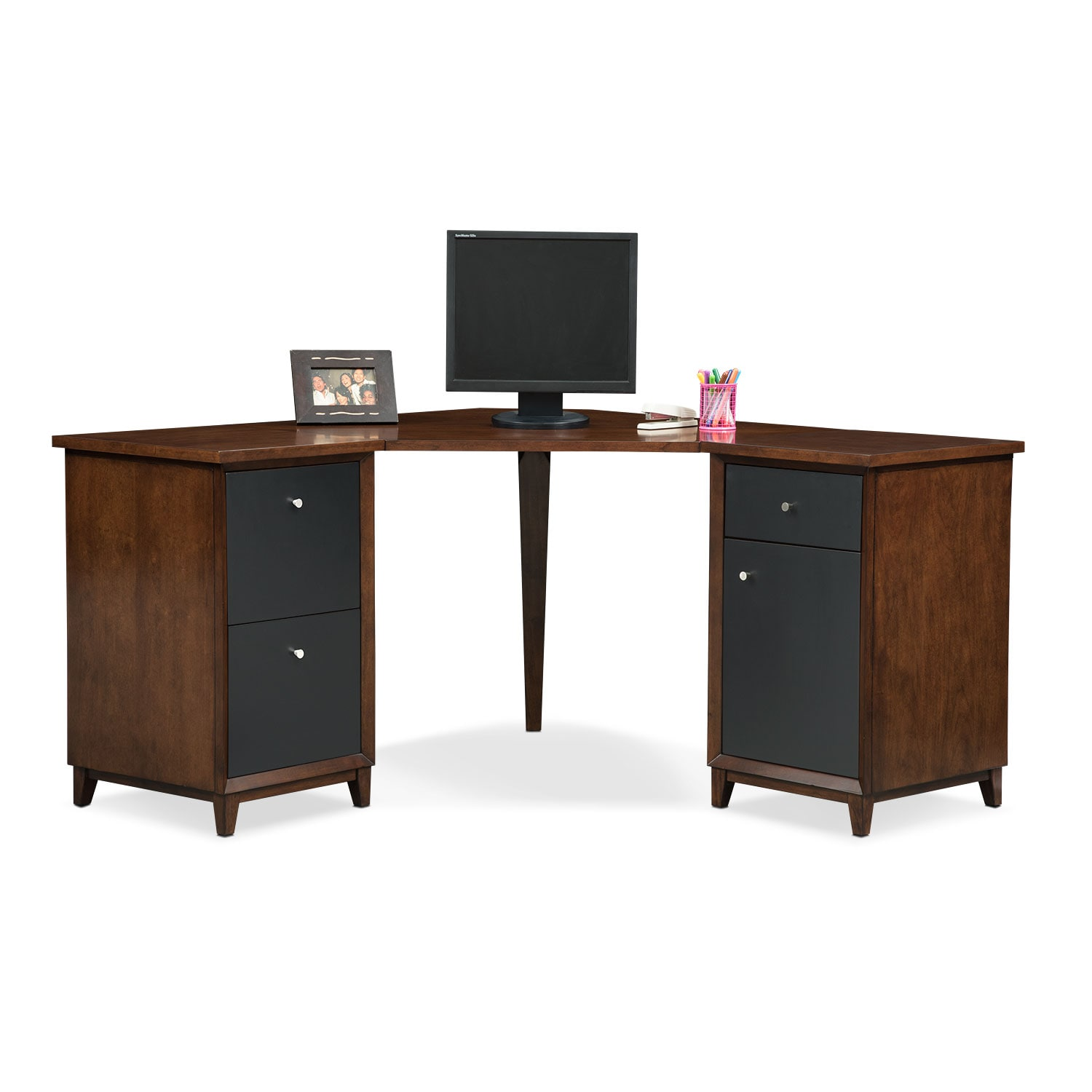 Oslo Corner Desk - Black