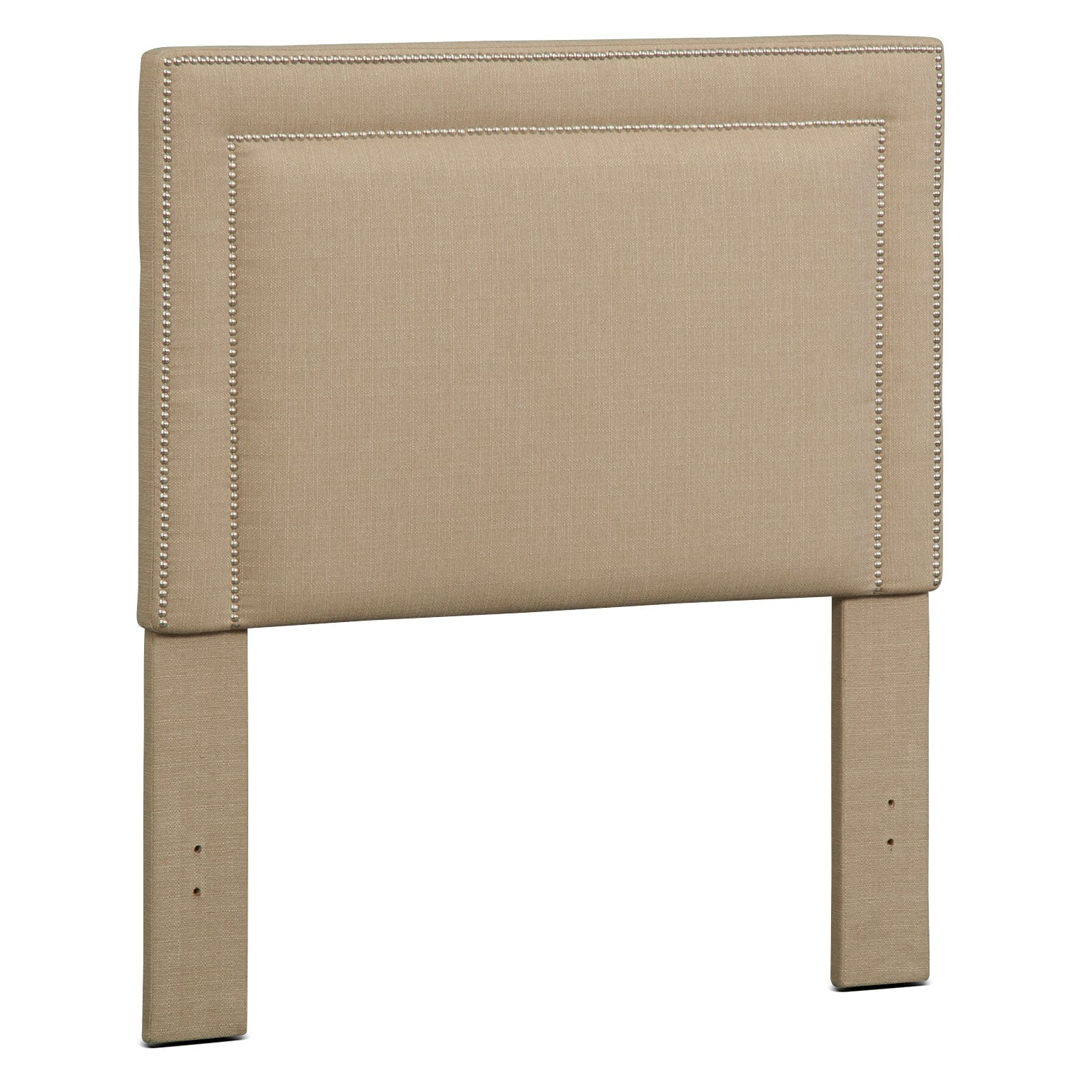 Natalie Full Upholstered Headboard - Tan