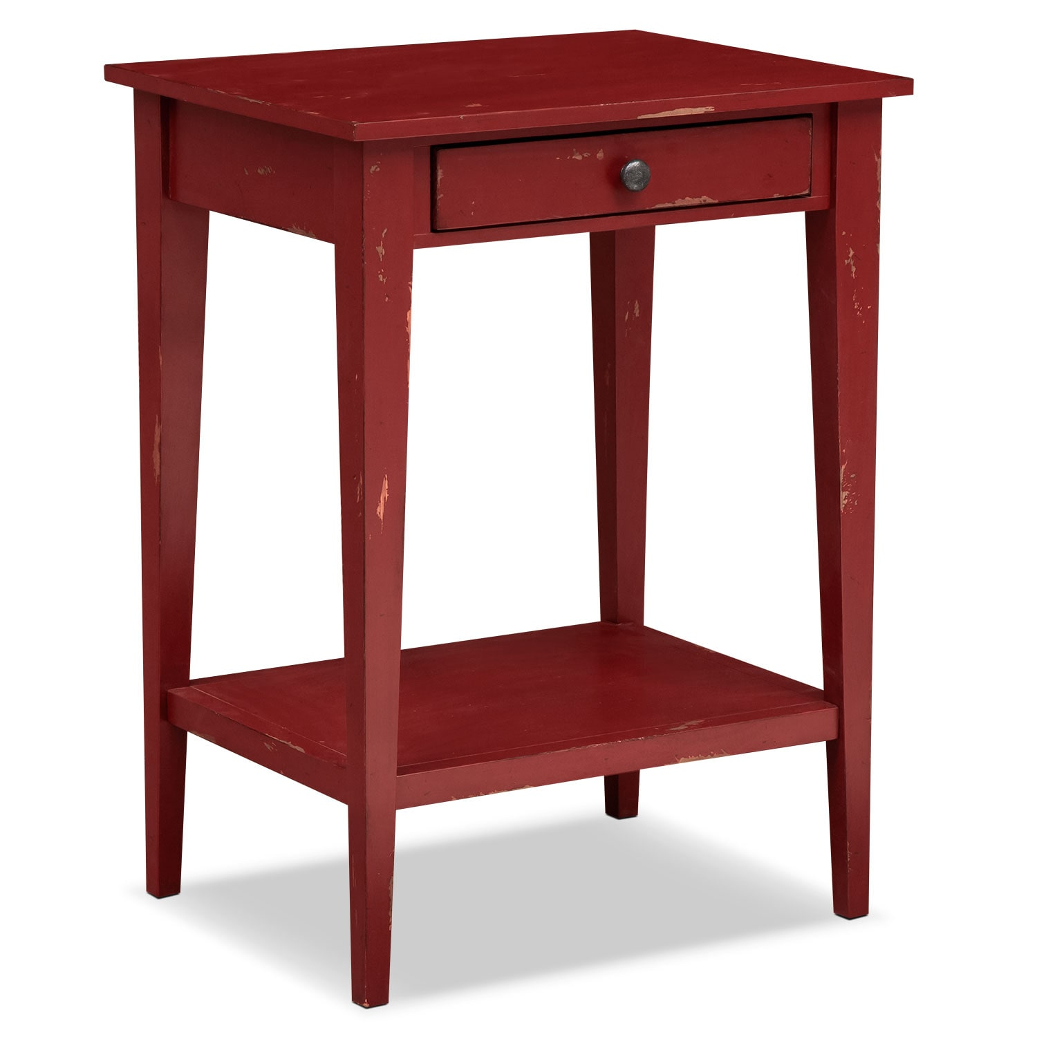 Anthony End Table - Red