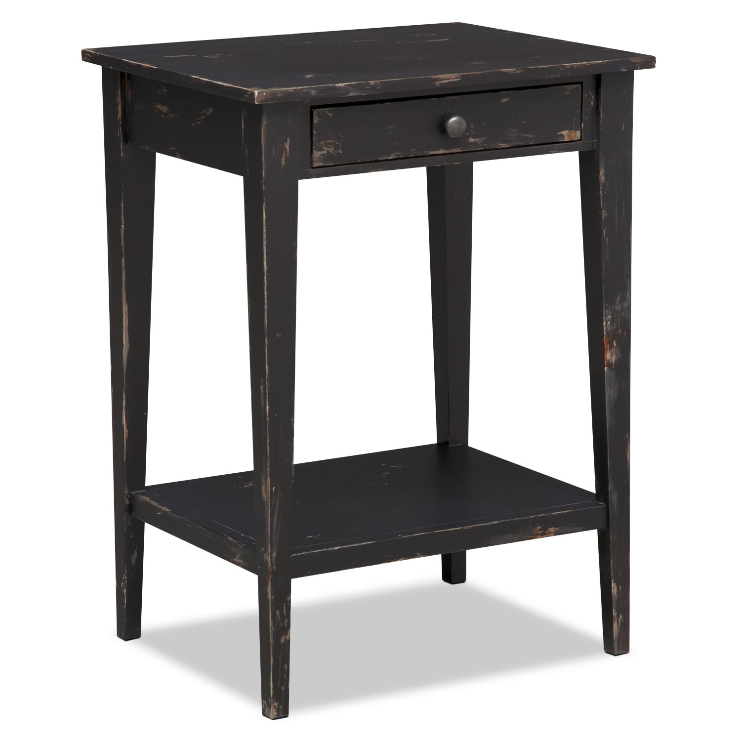 Anthony End Table - Black