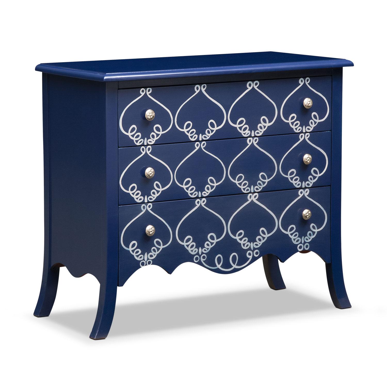 Bedroom Furniture - Miranda Chest - Blue