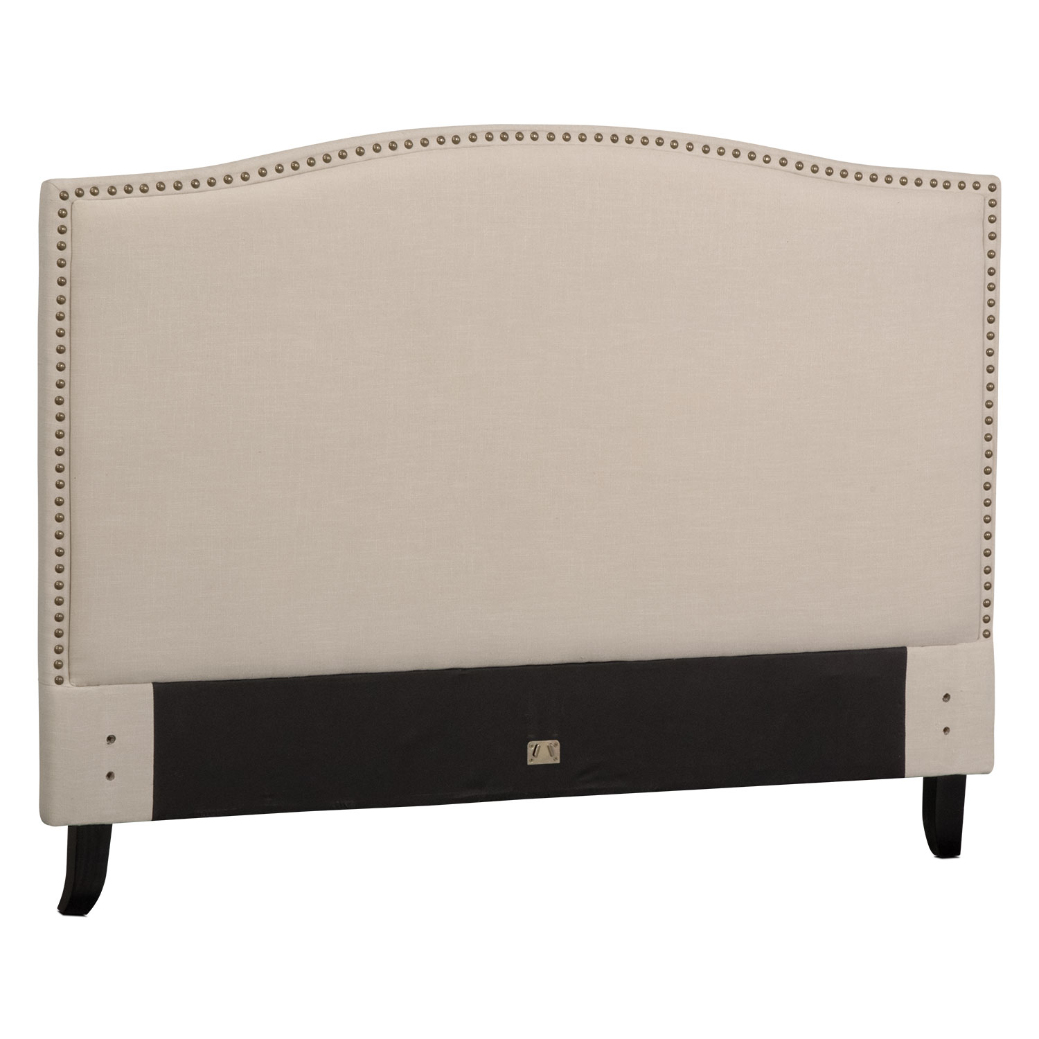 Aubrey Queen Upholstered Headboard - Sand