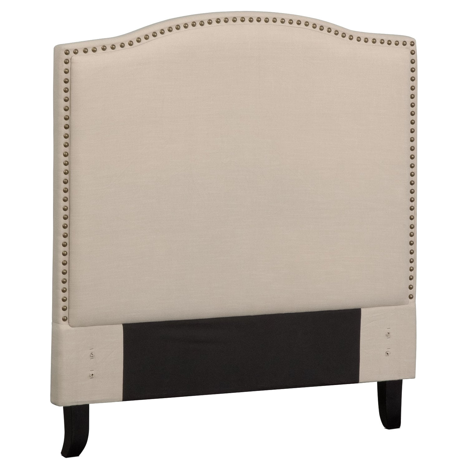 Bedroom Furniture - Aubrey Twin Upholstered Headboard - Sand