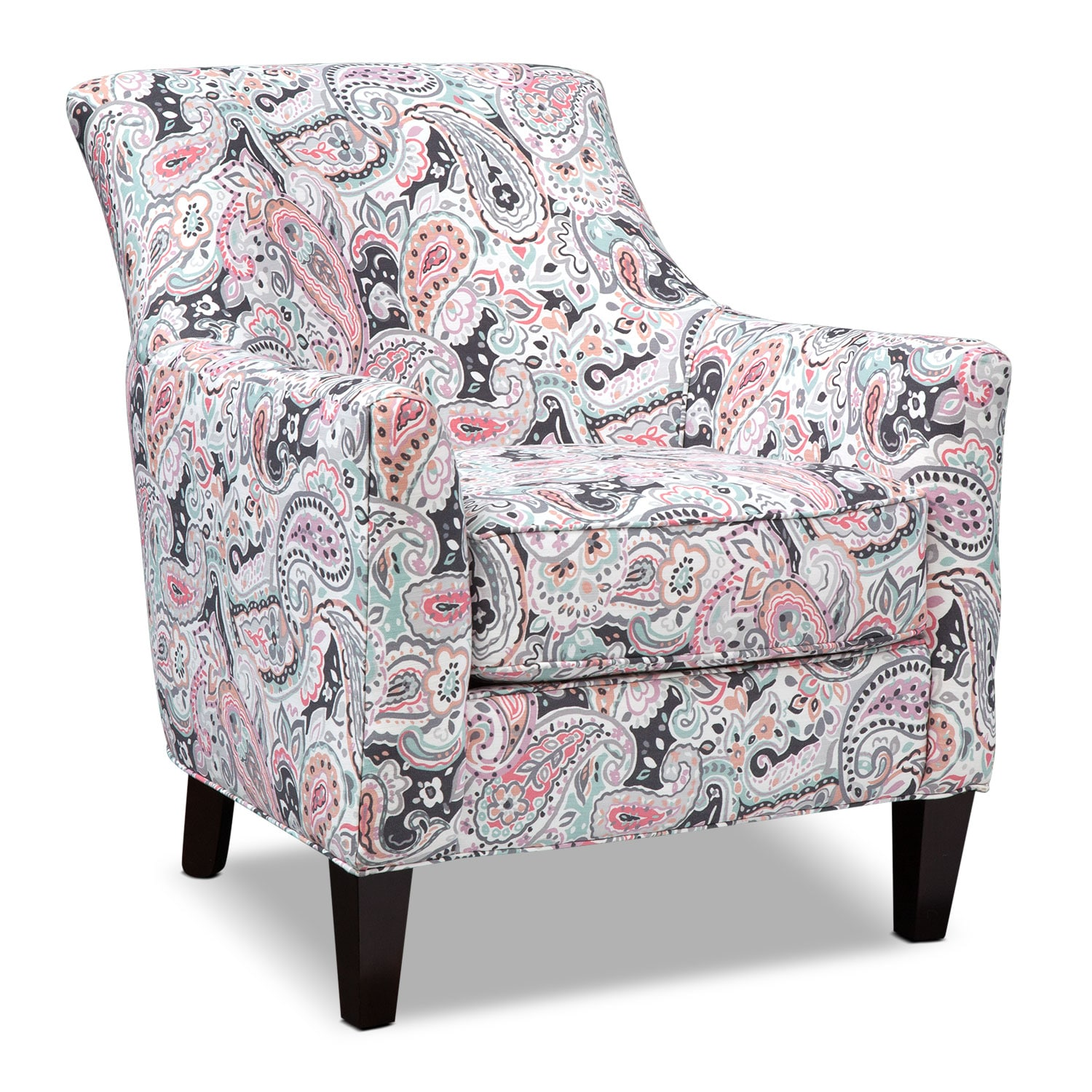 Rachel Esparanza Accent Chair - Granite