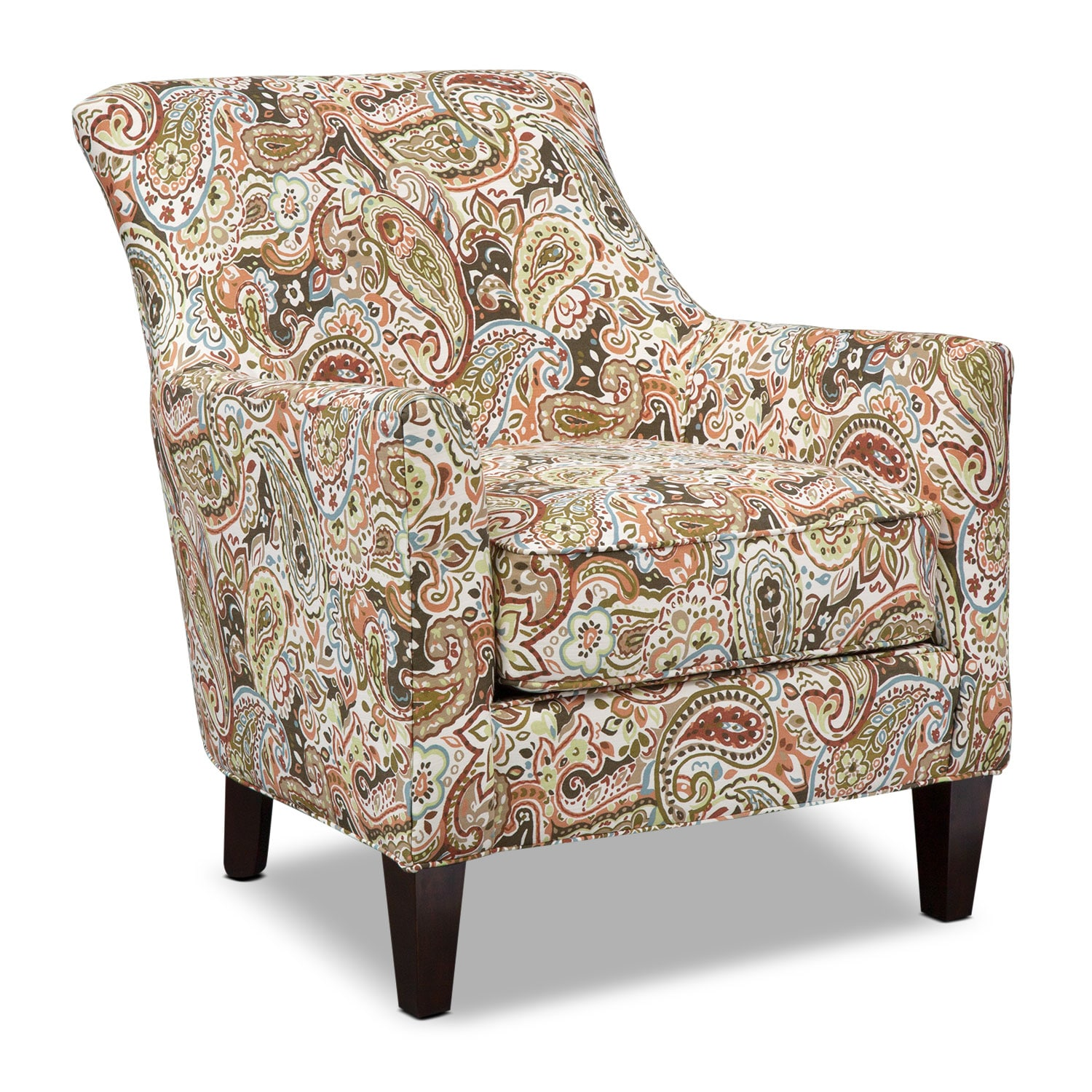 Accent and Occasional Furniture - Rachel Esparanza Accent Chair - Sage