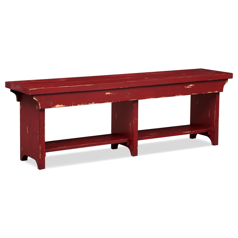 Bedroom Furniture - Roger Bench - Red
