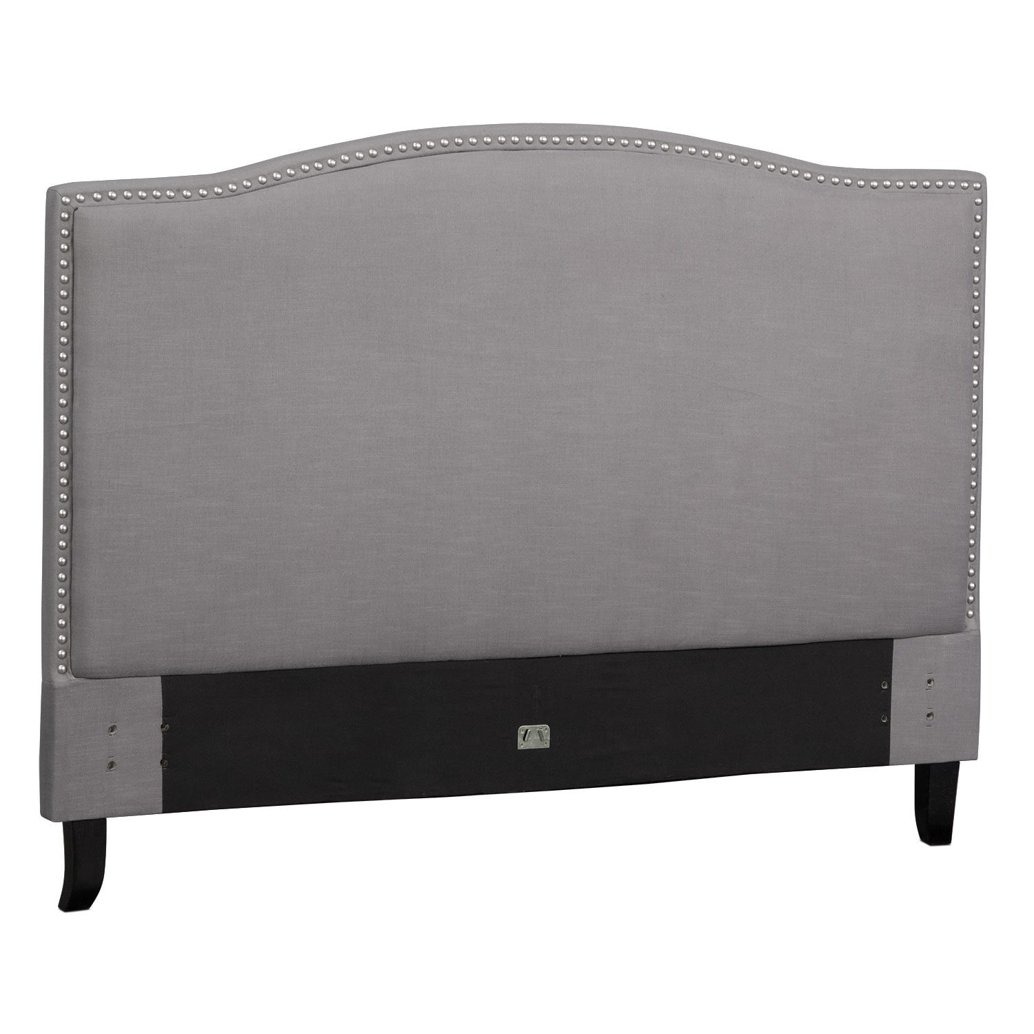 Aubrey King Upholstered Headboard - Gray