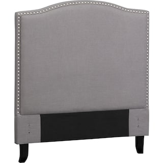 Aubrey Full Upholstered Headboard - Gray