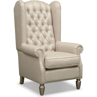 Cleo Accent Chair - Platinum