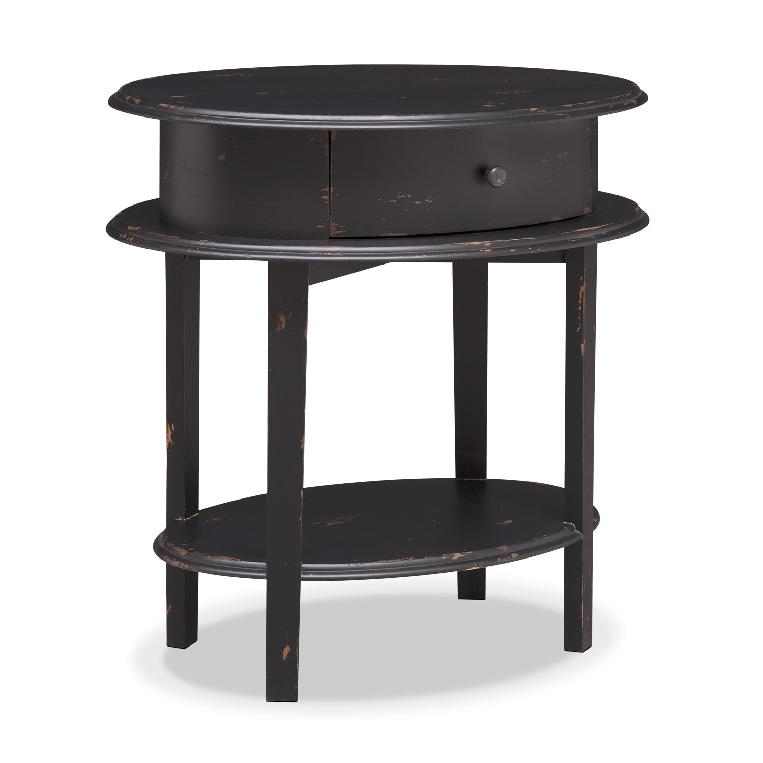 Cole End Table - Black
