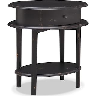 Cole End Table - Black