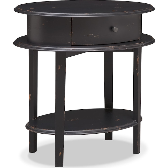 Bedroom Furniture - Cole End Table - Black