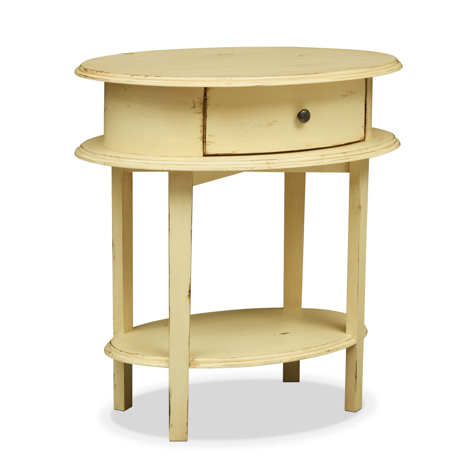 Cole End Table - Yellow