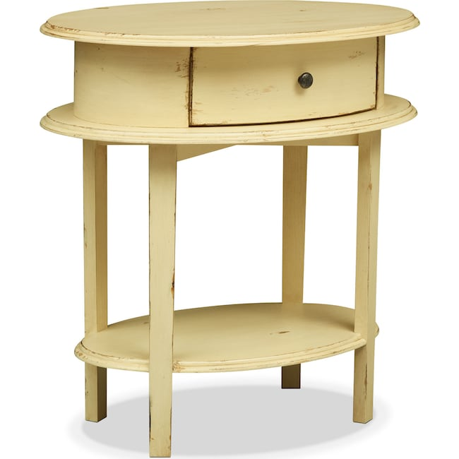 Bedroom Furniture - Cole End Table - Yellow