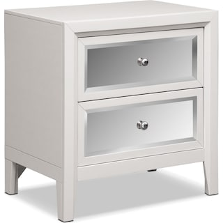 Bonita Nightstand - White