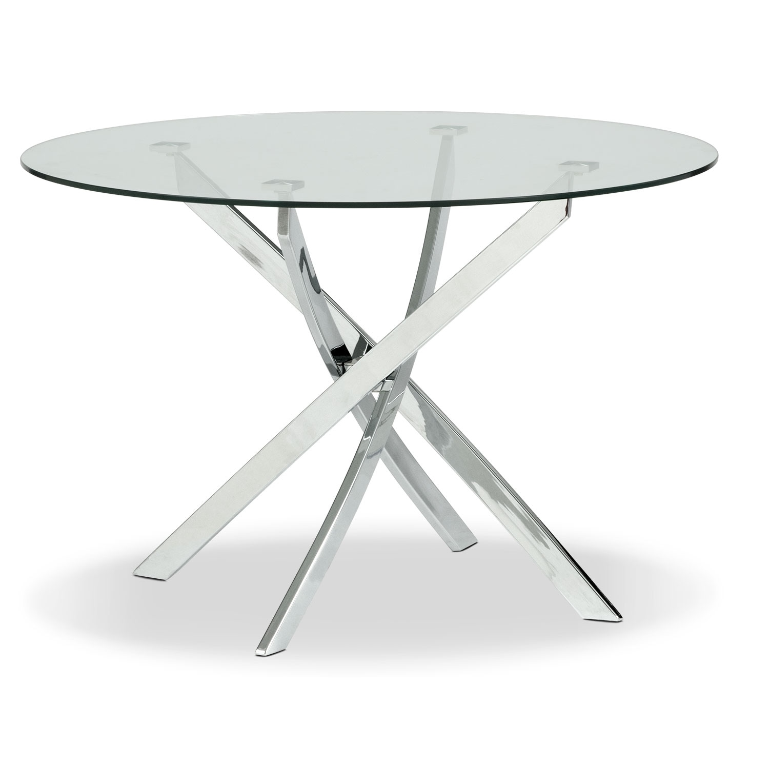 Quattro Dining Table - Glass