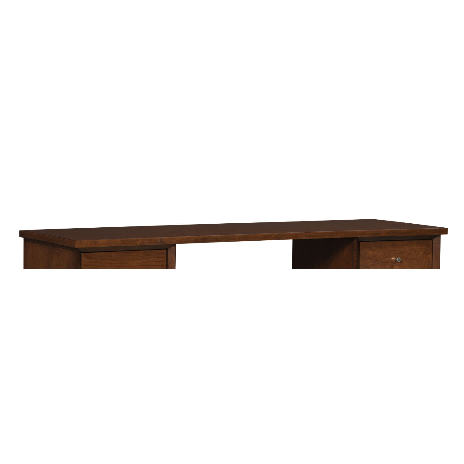 "Home Office Furniture - Oslo 65"" Desk Top - Cherry"