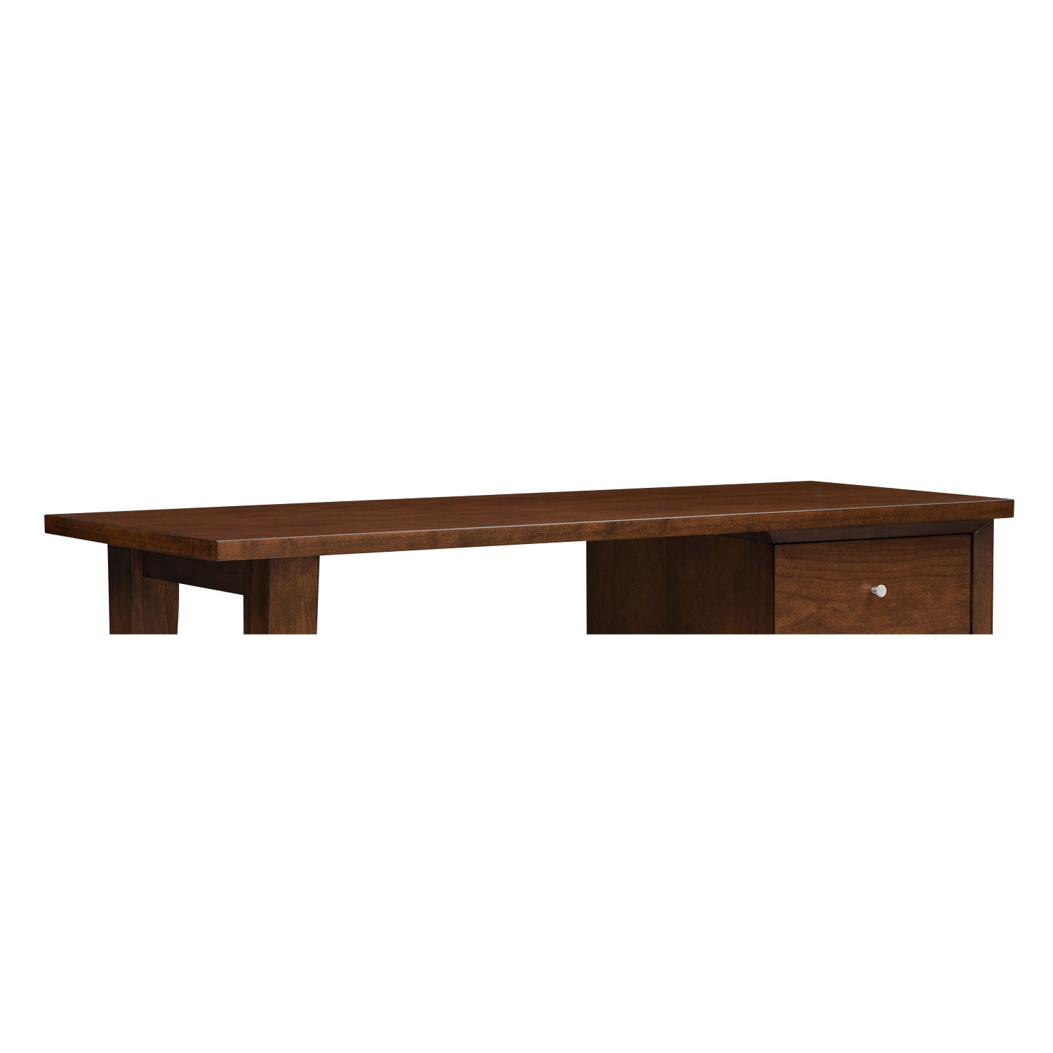 Home Office Furniture - Oslo Cherry Laptop Desk Top
