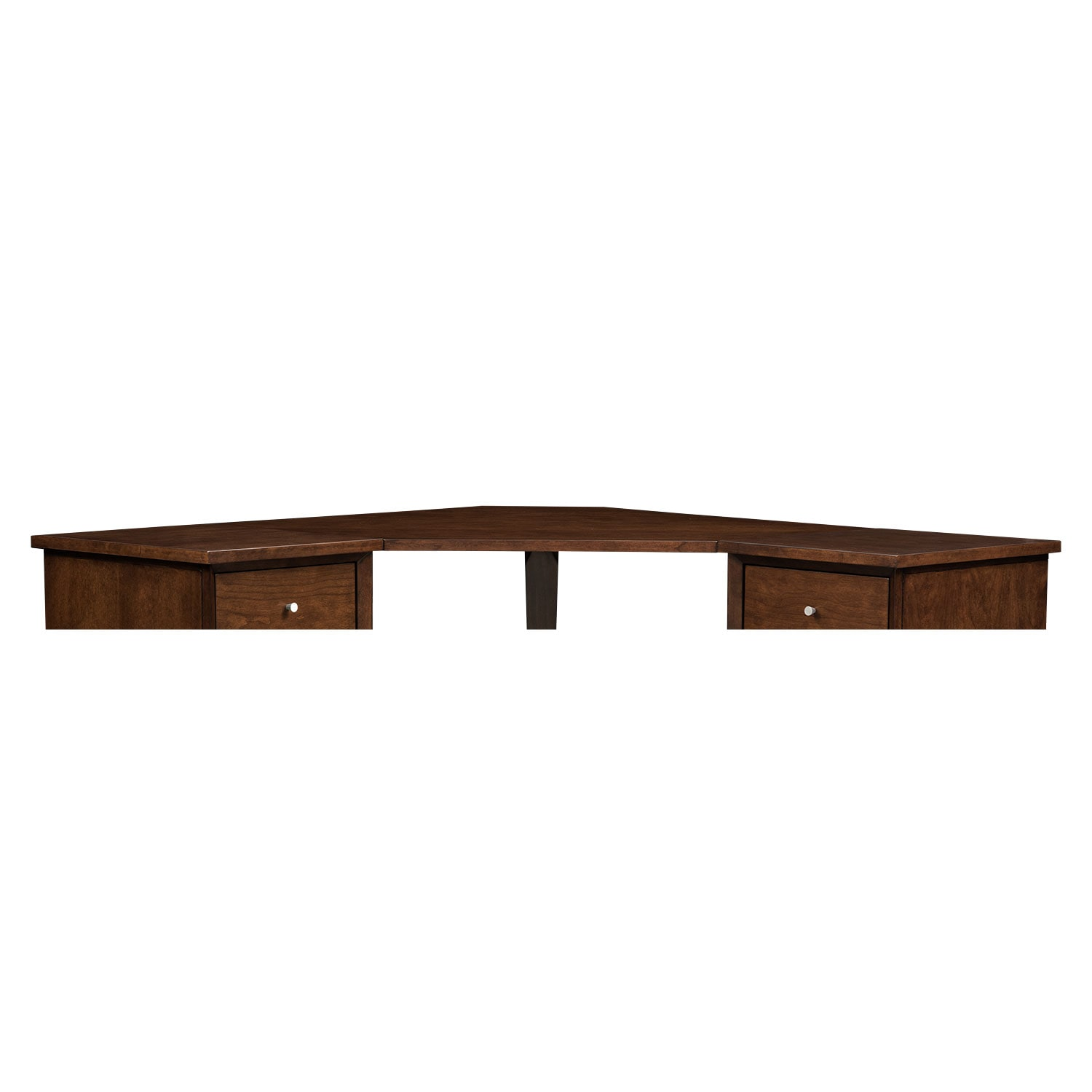 Home Office Furniture - Oslo Cherry Corner Desk Top
