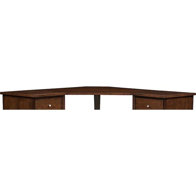 Home Office Furniture - Oslo Cherry Corner Desk Top