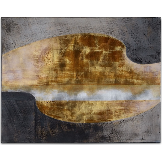 Home Accessories - Golden Waves No. 1 Canvas Print