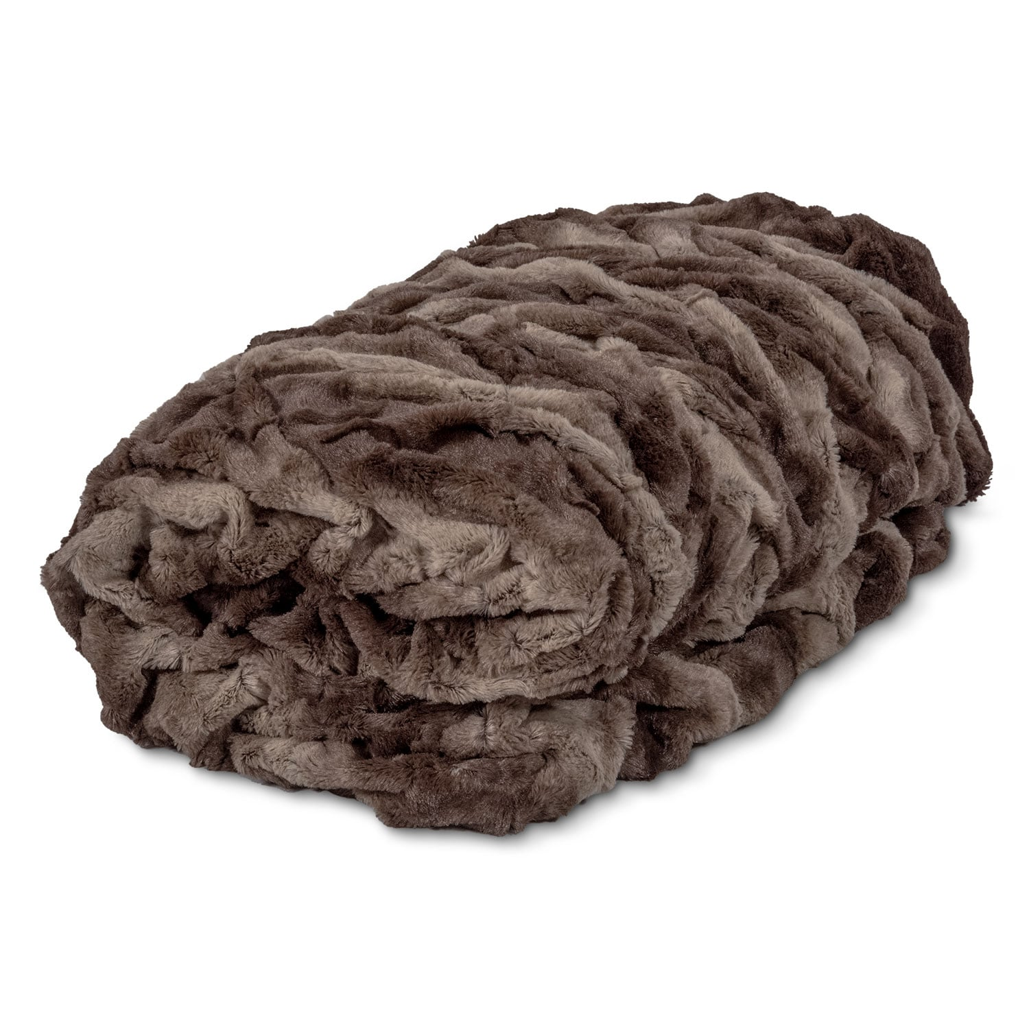 Accent and Occasional Furniture - Harbor Faux Fur Throw Blanket