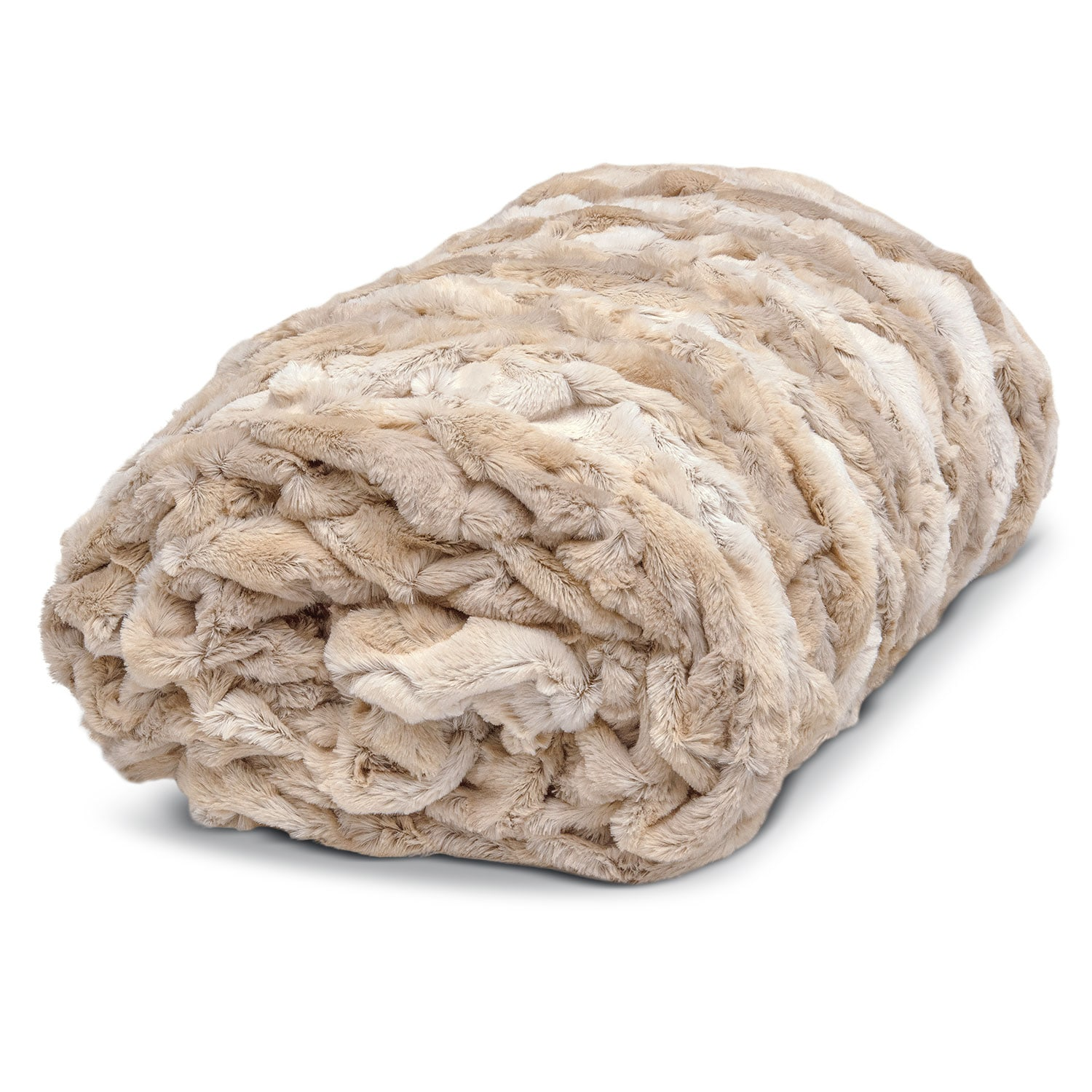 Accent and Occasional Furniture - Hampton Faux Fur Throw Blanket