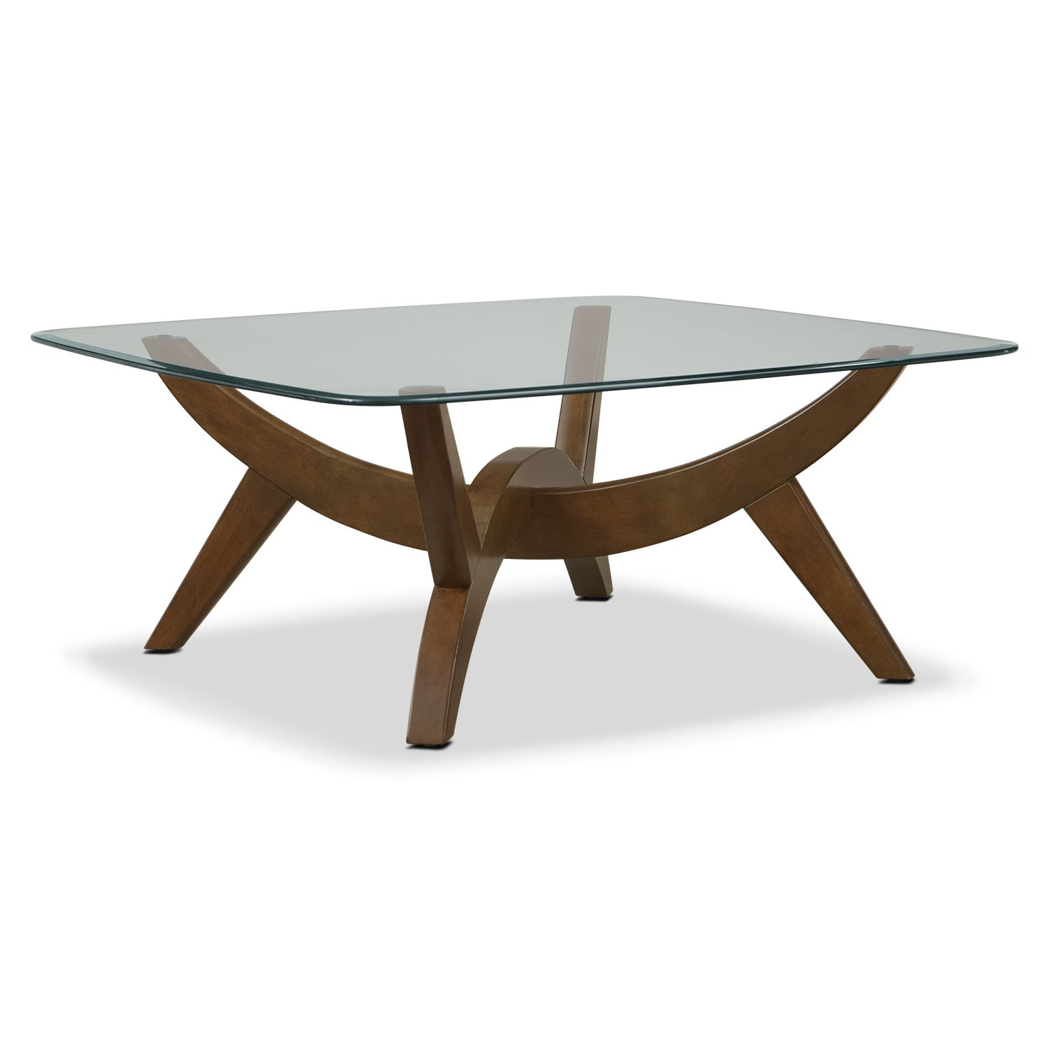 Accent and Occasional Furniture - Midtown Cocktail Table - Walnut